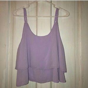 Tops - 🎈 5 for $15 🎈Flowy purple tank top!